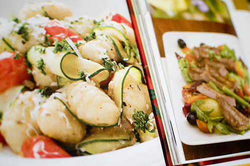 Recipes for Gnocchi in Brown Butter and Beef Nicoise Salad